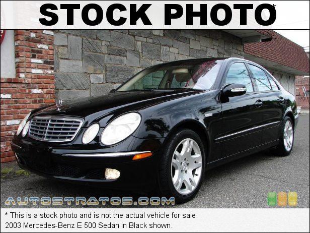 Stock photo for this 2003 Mercedes-Benz E 500 Sedan 5.0 Liter SOHC 24-Valve V8 5 Speed Automatic