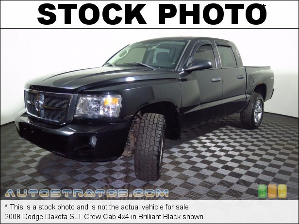 Stock photo for this 2006 Dodge Dakota Laramie Quad Cab 4x4 4.7 Liter High Output SOHC 16-Valve PowerTech V8 5 Speed Automatic