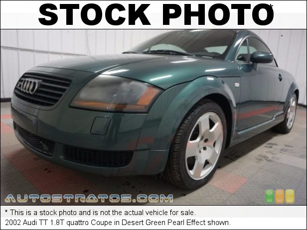Stock photo for this 2002 Audi TT 1.8T quattro Coupe 1.8 Liter Turbocharged DOHC 20-Valve 4 Cylinder 6 Speed Manual