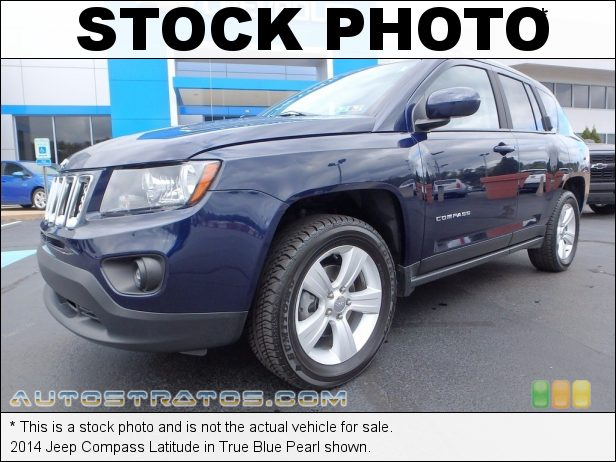 Stock photo for this 2014 Jeep Compass Latitude 2.4 Liter DOHC 16-Valve Dual VVT 4 Cylinder 6 Speed Automatic
