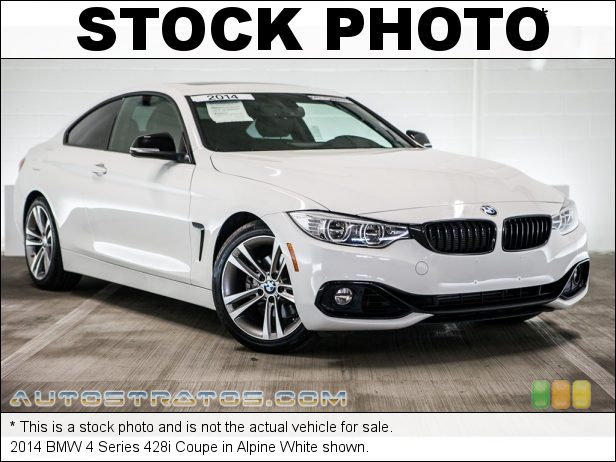 Stock photo for this 2014 BMW 4 Series 428i Coupe 2.0 Liter DI TwinPower Turbocharged DOHC 16-Valve VVT 4 Cylinder 8 Speed Sport Automatic