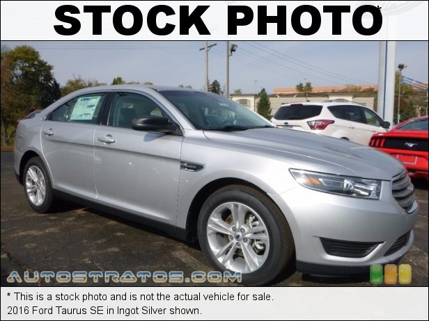 Stock photo for this 2016 Ford Taurus SE 3.5 Liter DOHC 24-Valve Ti-VCT V6 6 Speed SelectShift Automatic