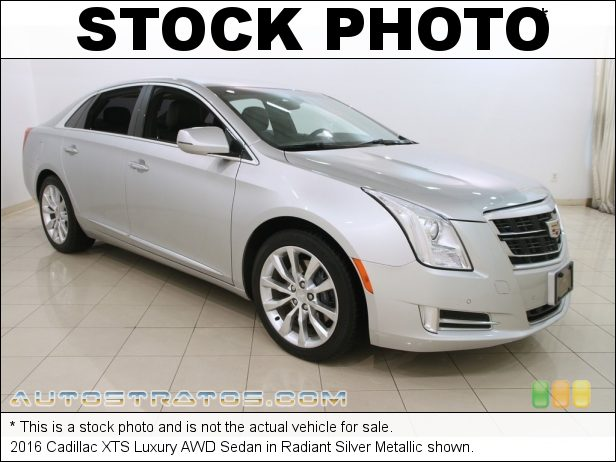 Stock photo for this 2016 Cadillac XTS Luxury AWD Sedan 3.6 Liter SIDI DOHC 24-Valve VVT V6 6 Speed Automatic