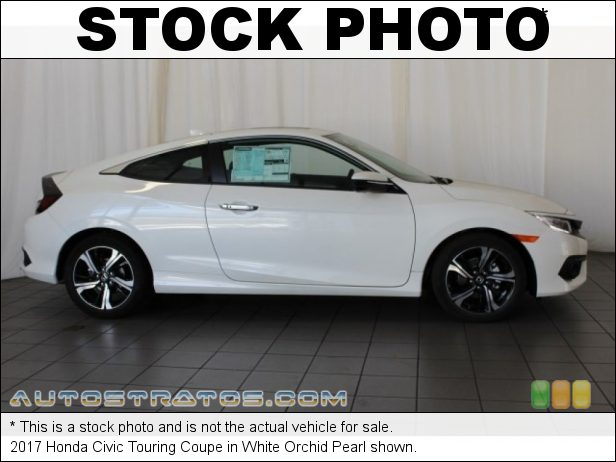 Stock photo for this 2017 Honda Civic Touring Coupe 1.5 Liter Turbocharged DOHC 16-Valve 4 Cylinder CVT Automatic