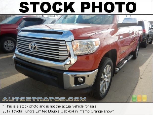 Stock photo for this 2017 Toyota Tundra Limited Double Cab 4x4 5.7 Liter i-Force DOHC 32-Valve VVT-i V8 6 Speed ECT-i Automatic