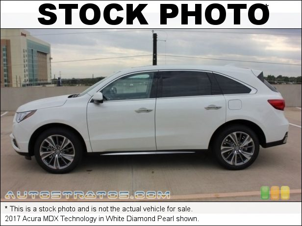 Stock photo for this 2017 Acura MDX Technology 3.5 Liter DI SOHC 24-Valve i-VTEC V6 9 Speed Sequential SportShift Automatic