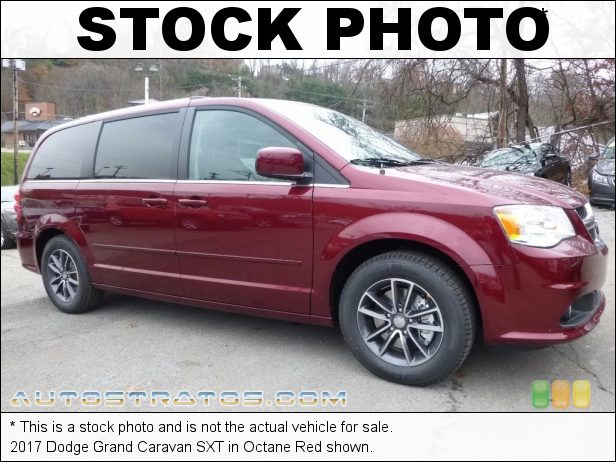 Stock photo for this 2017 Dodge Grand Caravan SXT 3.6 Liter DOHC 24-Valve VVT Pentastar V6 6 Speed Automatic