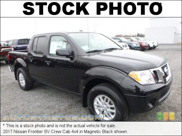 Stock photo for this 2017 Nissan Frontier Crew Cab 4x4 4.0 Liter DOHC 24-Valve CVTCS V6 5 Speed Automatic