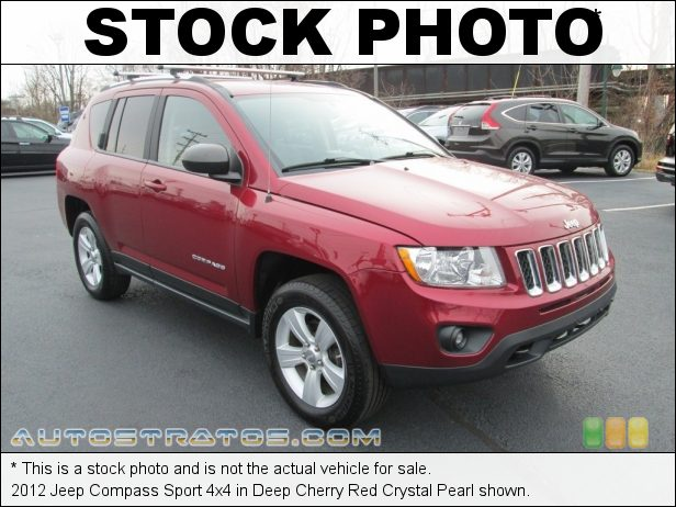 Stock photo for this 2012 Jeep Compass Sport 4x4 2.4 Liter DOHC 16-Valve Dual VVT 4 Cylinder CVT II Automatic