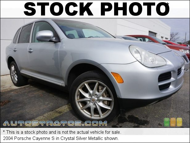 Stock photo for this 2004 Porsche Cayenne S 4.5 Liter DOHC 32V V8 6-Speed Tiptronic-S Automatic
