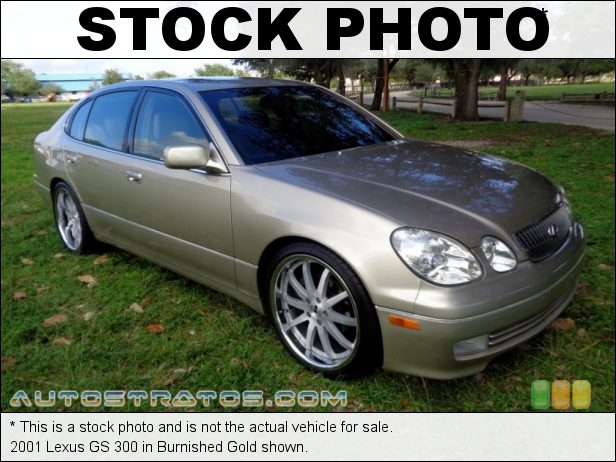 Stock photo for this 2001 Lexus GS 300 3.0 Liter DOHC 24-Valve VVT-i Inline 6 Cylinder 5 Speed Automatic