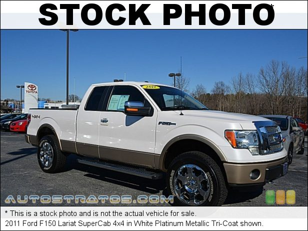 Stock photo for this 2011 Ford F150 SuperCab 4x4 5.0 Liter Flex-Fuel DOHC 32-Valve Ti-VCT V8 6 Speed Automatic