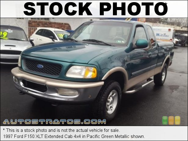Stock photo for this 1997 Ford F150 XLT Extended Cab 4x4 4.6 Liter SOHC 16-Valve Triton V8 4 Speed Automatic