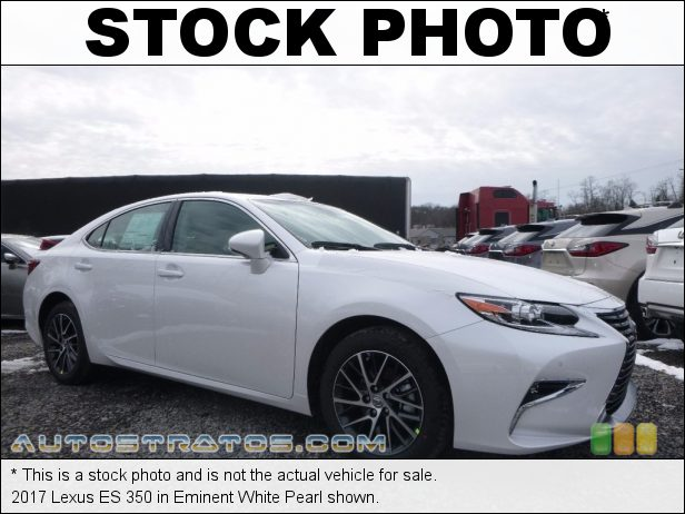 Stock photo for this 2017 Lexus ES 350 3.5 Liter DOHC 24-Valve VVT-i V6 6 Speed ECT-i Automatic