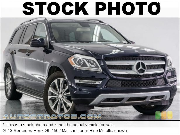 Stock photo for this 2013 Mercedes-Benz GL 450 4Matic 4.6 Liter biturbo DI DOHC 32-Valve VVT V8 7 Speed Automatic
