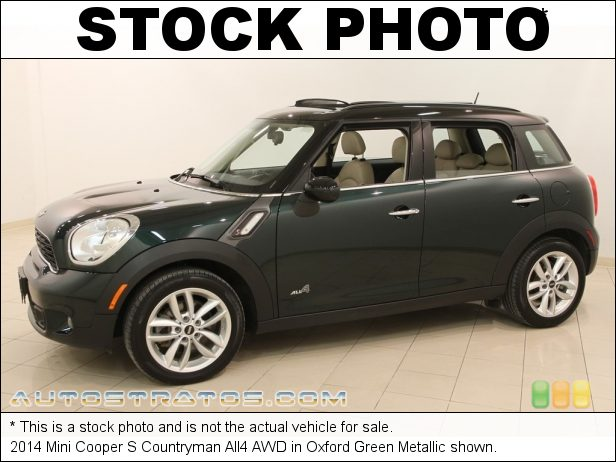 Stock photo for this 2014 Mini Cooper S Countryman All4 AWD 1.6 Liter Twin Scroll Turbocharged DI DOHC 16-Valve VVT 4 Cylind 6 Speed Manual