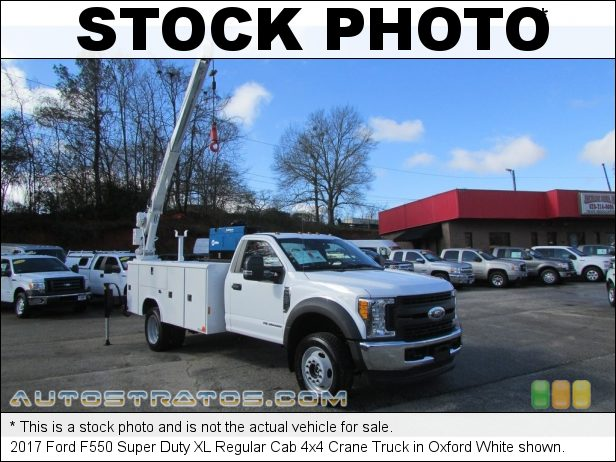 Stock photo for this 2019 Ford F550 Super Duty XL Regular Cab 4x4 6.8 Liter SOHC 30-Valve V10 6 Speed Automatic