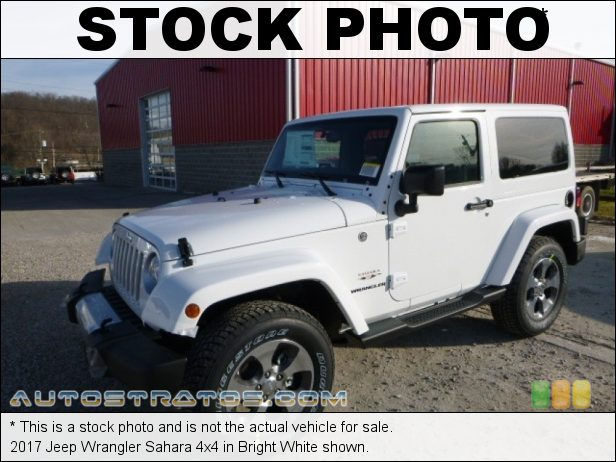 Stock photo for this 2017 Jeep Wrangler Sahara 4x4 3.6 Liter DOHC 24-Valve VVT V6 5 Speed Automatic