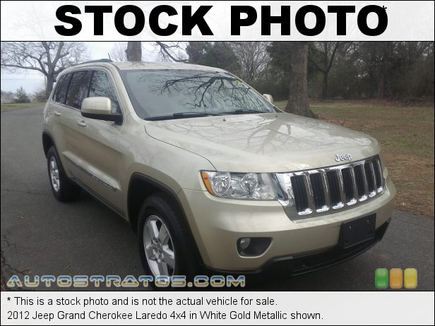 Stock photo for this 2012 Jeep Grand Cherokee Laredo 4x4 3.6 Liter DOHC 24-Valve VVT V6 5 Speed Automatic