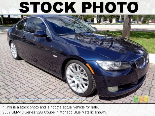 Stock photo for this 2007 BMW 3 Series 328i Coupe 3.0L DOHC 24V VVT Inline 6 Cylinder 6 Speed Steptronic Automatic