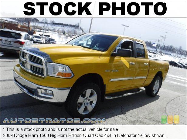 Stock photo for this 2009 Dodge Ram 1500 ST Quad Cab 4x4 5.7 Liter HEMI OHV 16-Valve VVT MDS V8 5 Speed Automatic