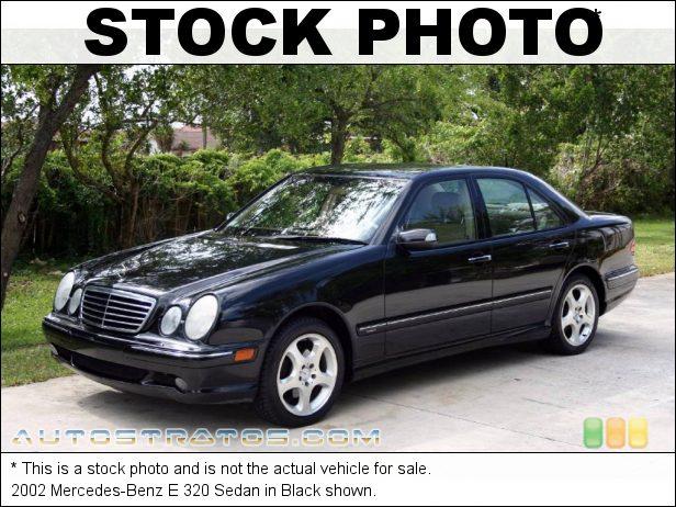 Stock photo for this 2002 Mercedes-Benz E 320 Sedan 3.2 Liter SOHC 18-Valve V6 5 Speed Automatic