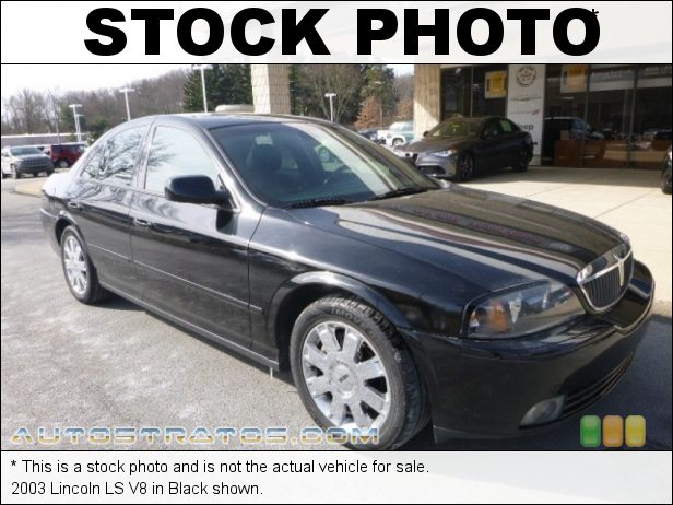Stock photo for this 2003 Lincoln LS V8 3.9 Liter DOHC 24-Valve V8 5 Speed Automatic