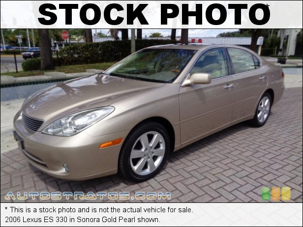 Stock photo for this 2006 Lexus ES 330 3.3 Liter DOHC 24-Valve VVT V6 5 Speed Automatic