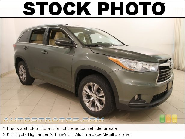 Stock photo for this 2015 Toyota Highlander XLE AWD 3.5 Liter DOHC 24-Valve Dual VVT-i V6 6 Speed Automatic