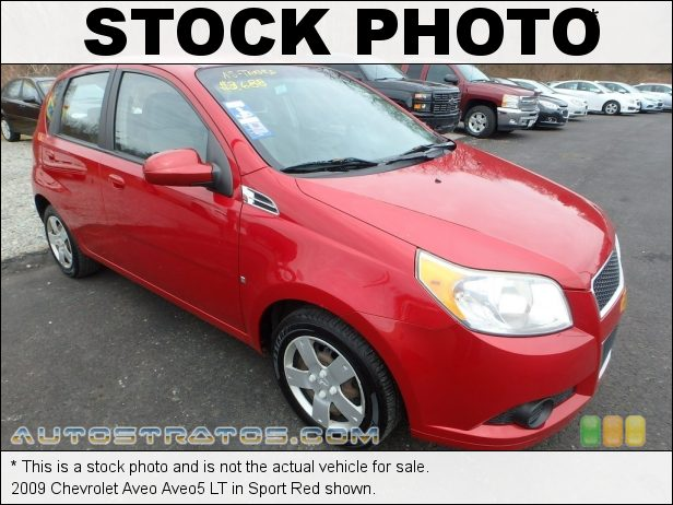 Stock photo for this 2009 Chevrolet Aveo Aveo5 1.6 Liter DOHC 16-Valve VVT Ecotec 4 Cylinder 4 Speed Automatic