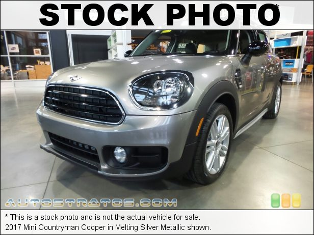Stock photo for this 2017 Mini Countryman Cooper 1.5 Liter TwinPower Turbocharged DOHC 12-Valve VVT 3 Cylinder 6 Speed Automatic