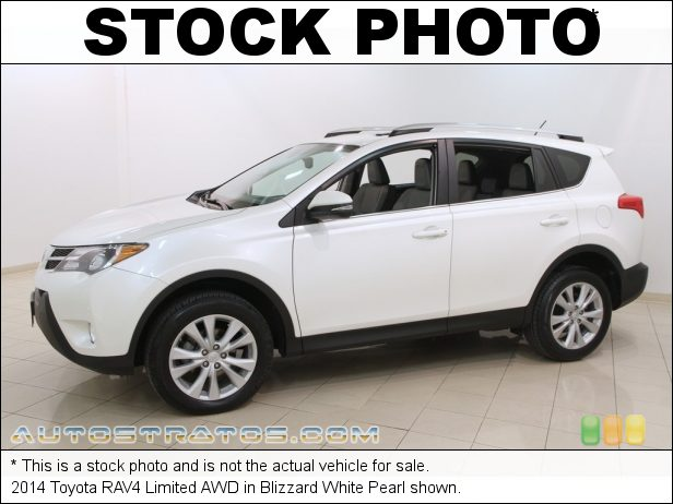 Stock photo for this 2014 Toyota RAV4 Limited AWD 2.5 Liter DOHC 16-Valve Dual VVT-i 4 Cylinder 6 Speed ECT-i Automatic