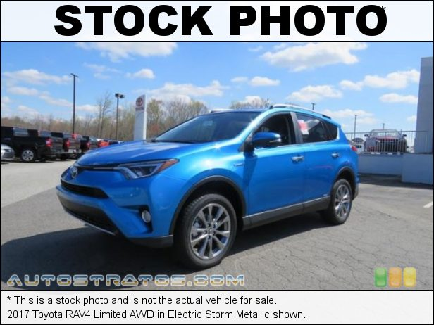 Stock photo for this 2017 Toyota RAV4 Limited AWD 2.5 Liter DOHC 16-Valve Dual VVT-i 4 Cylinder CVT Automatic