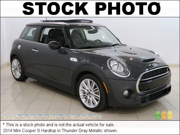 Stock photo for this 2014 Mini Cooper S Hardtop 2.0 Liter TwinPower Turbocharged DOHC 16-Valve VVT 4 Cylinder 6 Speed Automatic