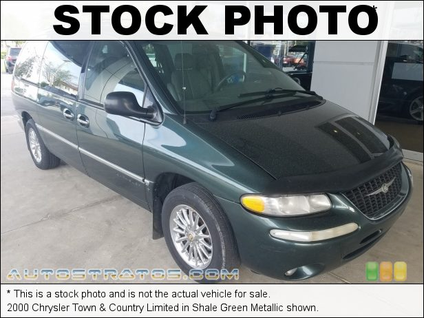 Stock photo for this 2000 Chrysler Town & Country Limited 3.8 Liter OHV 12-Valve V6 4 Speed Automatic
