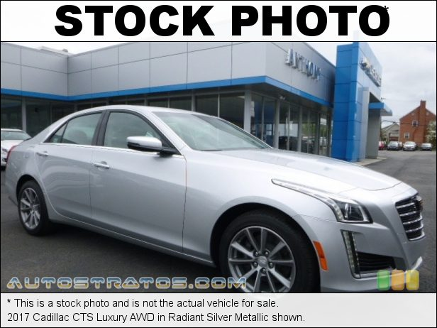 Stock photo for this 2017 Cadillac CTS Luxury AWD 3.6 Liter DI DOHC 24-Valve VVT V6 8 Speed Automatic