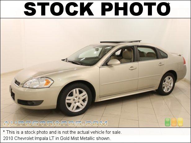 Stock photo for this 2010 Chevrolet Impala LT 3.5 Liter Flex-Fuel OHV 12-Valve VVT V6 4 Speed Automatic