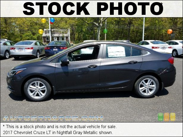 Stock photo for this 2017 Chevrolet Cruze LT 1.4 Liter Turbocharged DOHC 16-Valve CVVT 4 Cylinder 6 Speed Automatic