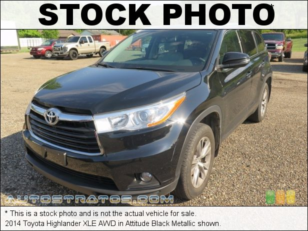 Stock photo for this 2014 Toyota Highlander XLE AWD 3.5 Liter DOHC 24-Valve Dual VVT-i V6 6 Speed ECT-i Automatic