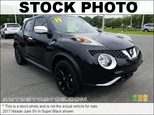 Stock photo for this 2017 Nissan Juke  1.6 Liter Turbocharged DOHC 16-Valve VVT 4 Cylinder Xtronic CVT Automatic