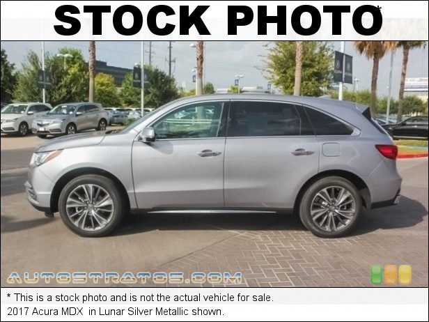 Stock photo for this 2017 Acura MDX  3.5 Liter DI SOHC 24-Valve i-VTEC V6 9 Speed Sequential SportShift Automatic