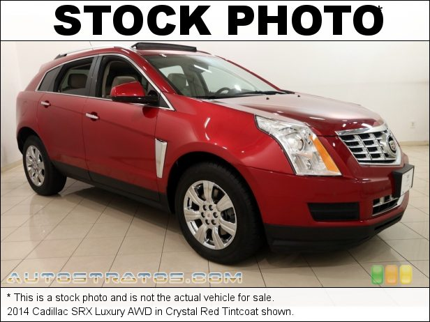 Stock photo for this 2014 Cadillac SRX Luxury AWD 3.6 Liter SIDI DOHC 24-Valve VVT V6 6 Speed Automatic