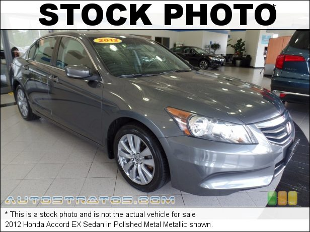 Stock photo for this 2012 Honda Accord EX Sedan 2.4 Liter DOHC 16-Valve i-VTEC 4 Cylinder 5 Speed Manual