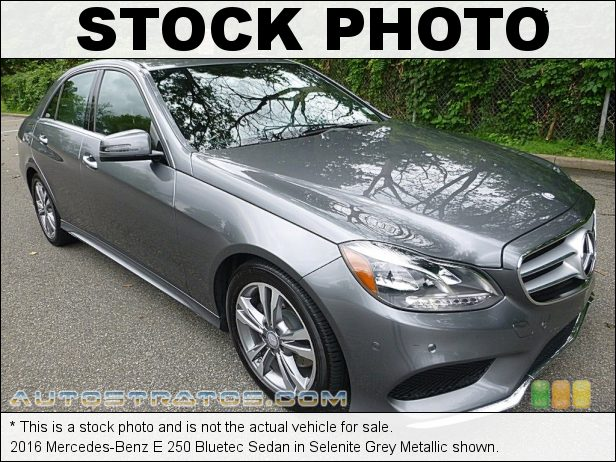 Stock photo for this 2016 Mercedes-Benz E 250 Bluetec Sedan 2.1 Liter Twin-Turbocharged BlueTEC Diesel DOHC 16-Valve 4 Cylin 7 Speed Automatic