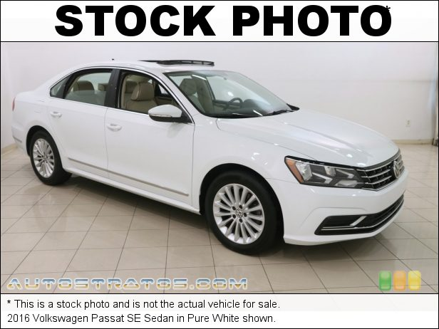 Stock photo for this 2015 Volkswagen Passat SE Sedan 1.8 Liter TSI Turbocharged DOHC 16-Valve VVT 4 Cylinder 6 Speed Automatic