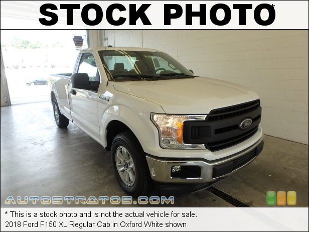 Stock photo for this 2018 Ford F150 XL 3.3 Liter DOHC 24-Valve Ti-VCT V6 6 Speed Automatic