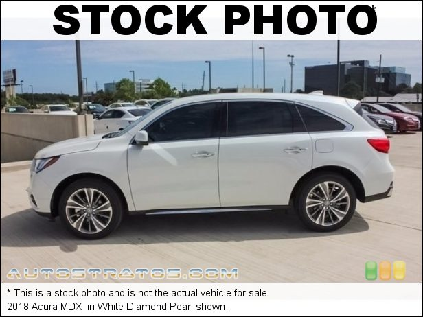 Stock photo for this 2018 Acura MDX  3.5 Liter SOHC 24-Valve i-VTEC V6 9 Speed Automatic