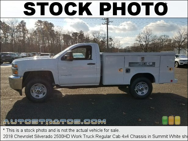 Stock photo for this 2009 Chevrolet Silverado 2500HD Work Truck Regular Cab Chassis Commercial 6.0 Liter OHV 16-Valve VVT Vortec V8 6 Speed Automatic