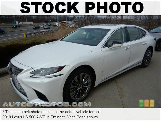 Stock photo for this 2018 Lexus LS 500 AWD 3.5 Liter DOHC 24-Valve VVT-i V6 10 Speed Automatic