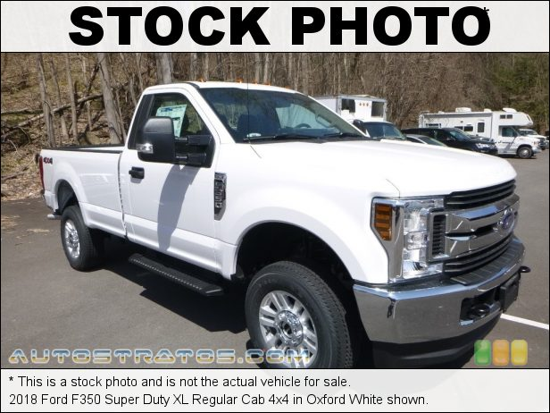 Stock photo for this 2020 Ford F350 Super Duty XL Regular Cab 4x4 6.2 Liter SOHC 16-Valve Flex-Fuel V8 10 Speed Automatic